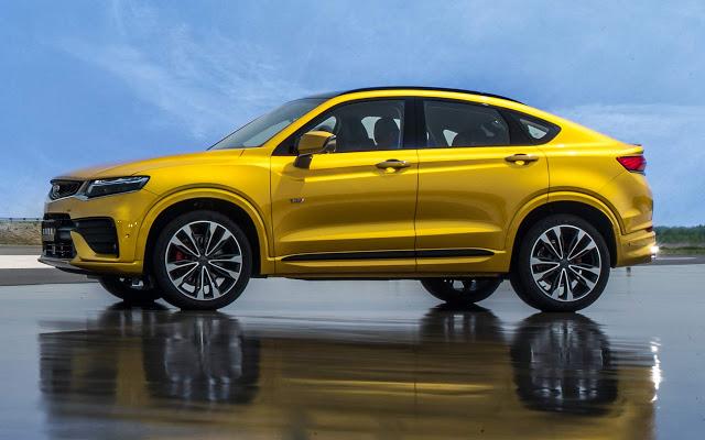 Geely Xing Yue: BMW X4 chinês tem plataforma Volvo XC40
