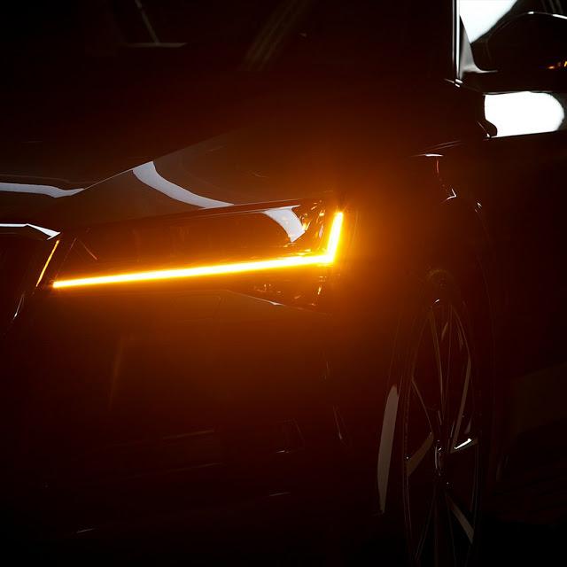 Novo Škoda Superb 2020: vídeo teaser mostra detalhes