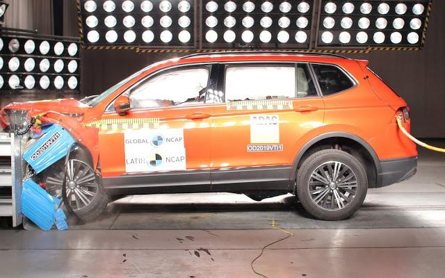 VW Jetta e Tiguan ganham 10 estrelas Latin NCAP - vídeos